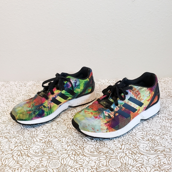 adidas Shoes   Torsion Zx Flux Floral